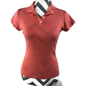 Michael Stars Coral Pink The Original Tee Polo
